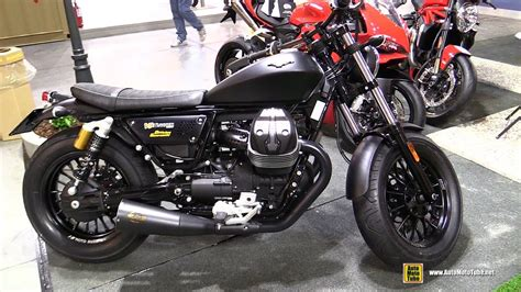 Modification Moto Guzzi V9 Bobber by 2016 Moto Guzzi V9 Bobber With Zard Exhaust Walkaround
