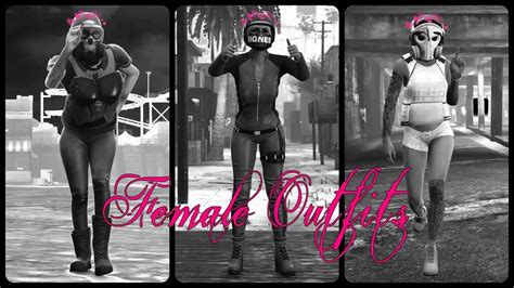 Female Outfits u2661 | [Doomsday Heist Outfits] | [GTA 5 Online] - YouTube