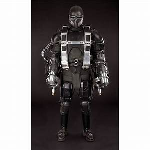 Hero Hydra soldier costume with flamethrower