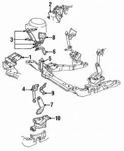 Ford Taurus Lower Bracket  3 0 Liter W  Sho  3 2 Liter