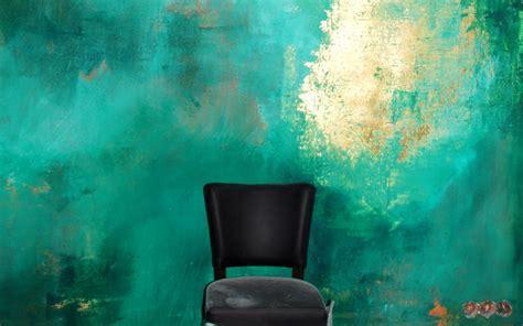 wandgestaltung durch wandmalerei mit wandfarben lifestyle und design