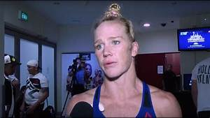 Fight Night Singapore: Holly Holm Backstage Interview ...