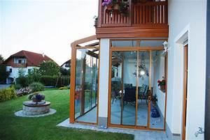 Wintergarten Unter Balkon : unter balkon montage eines wintergartens ~ Orissabook.com Haus und Dekorationen