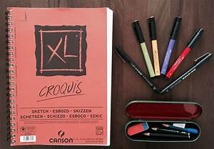 Bleistifte Zum Zeichnen : zeichnen lernen im doodle stil tag 1 materialien creatipster ~ Frokenaadalensverden.com Haus und Dekorationen