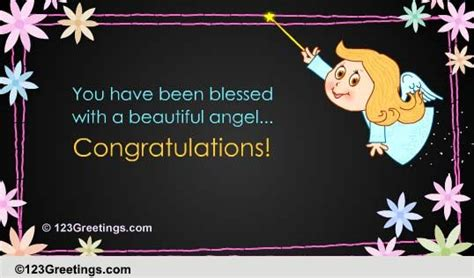blessed   baby ecards greeting