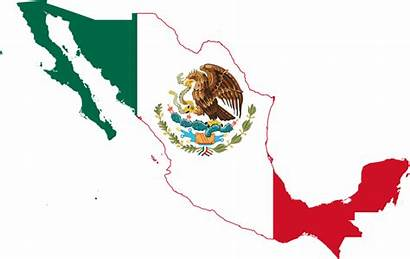 Mexico Flag Map Svg Pixels Wikimedia Commons