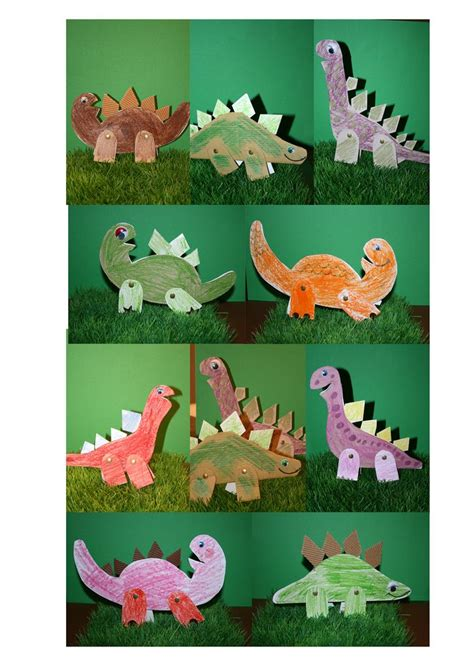 dinos craft ideas dinosaur crafts 748 | 077b1ef589ea1c9618727582c8fefa5d preschool dinosaur dinosaur crafts
