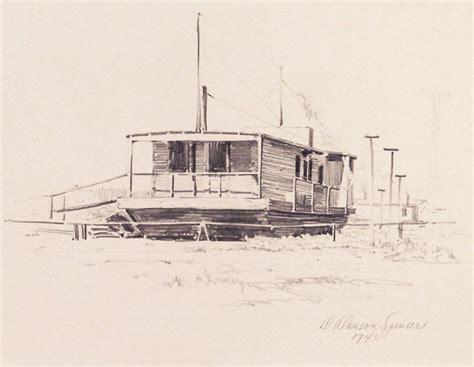 Houseboat Los Angeles by Stellargallery Artists Duncan Alanson Spencer