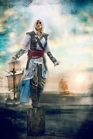 Female Assassin Assassin's Creed Black …