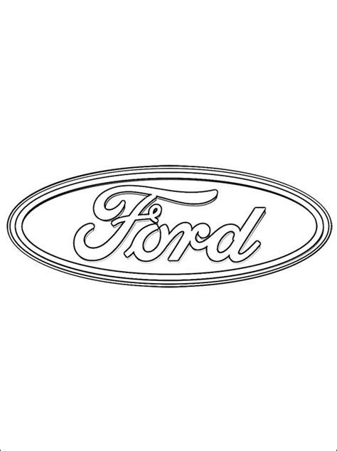Ford Kleurplaat by Logo Ford Kleurplaat Gratis Kleurplaten