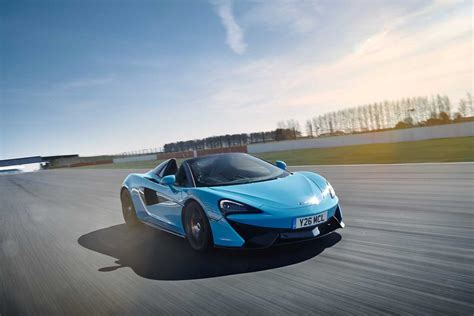 Mclaren 570s Spider Track Pack Now Available  95 Octane