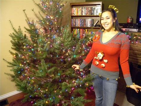 diy ugly sweater ideas  christmas parties