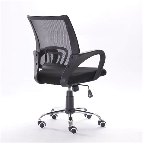 new ergonomic mid back mesh fabric back computer office