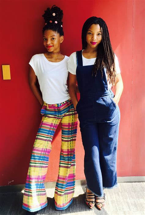 chloe  halle talk fashion beauty  beyonce instylecom