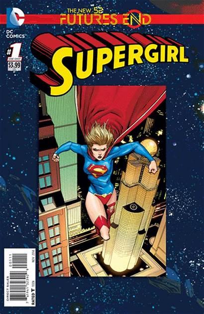Supergirl Futures End Comics 3d Dc Comic