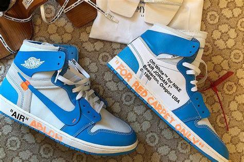 OFF-WHITE x Air Jordan 1 UNC (AQ0818-148)   Sneakers Magazine