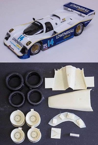The 962c first debuted in le mans, and went on to show its powerful performance in various races afterwards. Other Automotive Models and Kits 1190: 1 24 Porsche 962 ...