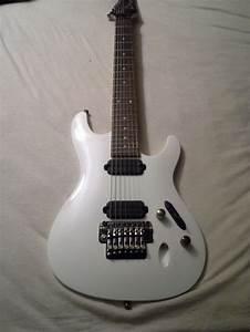 White Ibanez 7 String S Series