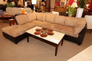 Beige Brown Leather Sofa Sectional Colleen39s Classic