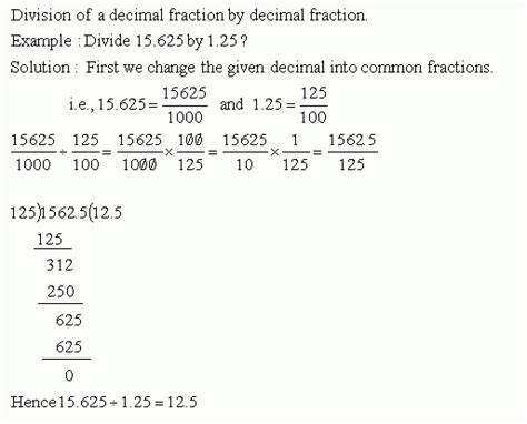 division in decimals division by decimal number meap