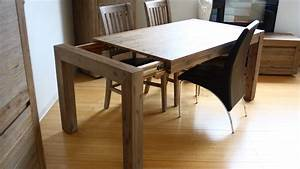 emejing table de salle a manger moderne bois pictures With table salle a manger contemporaine