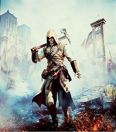 Creed Assassin Unity Ac Gaming Gifs Gamertag