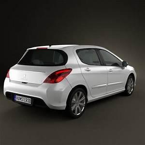 308 Peugeot 2012 : peugeot 308 2012 3d model humster3d ~ Gottalentnigeria.com Avis de Voitures