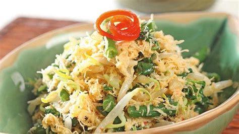 resep sederhana urap sayuran sooriyanfmlivecom
