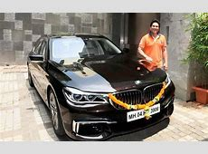 Sachin Tendulkar Takes Delivery of a New Customised BMW