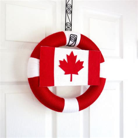 canada day red  white craft ideas family holidaynet