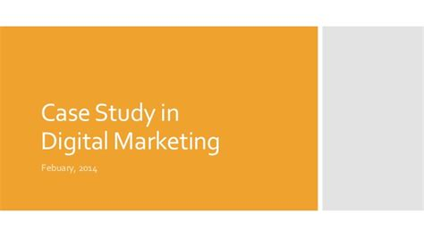 study digital marketing study in digital marketing
