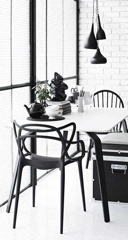 Coole Esszimmer Le by Black Trunk And Philippe Starck Chair Black White
