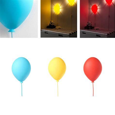 ikea kids wall l light balloon shaped dromminge blue yellow in 2019