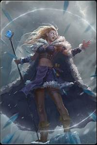 Female Warrior The Ice Mage | Female Warriors Girls Who ...