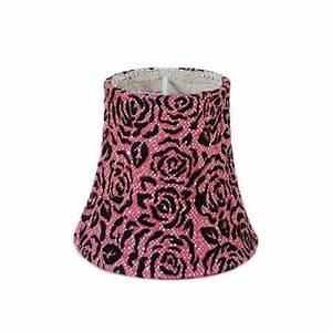 Abat Jour Rose : abat jour design en velours rose et noir chez kosilum ~ Teatrodelosmanantiales.com Idées de Décoration