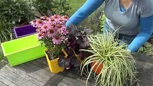 Comment Remplir Une Grande Jardinière : plantes vivaces en jardini re conseils en vid o youtube ~ Melissatoandfro.com Idées de Décoration