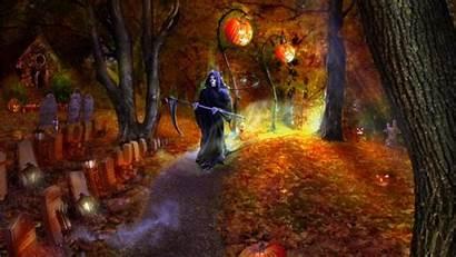 Halloween Wallpapers Screensavers Scary Desktop Yahoo