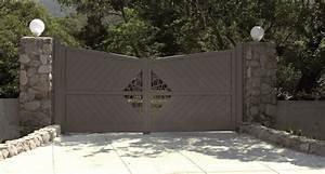 Portail Sur Mesure : fabrication et installation de portails en aluminium ~ Melissatoandfro.com Idées de Décoration