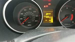 Mitsubishi Outlander Service Message Light Reset