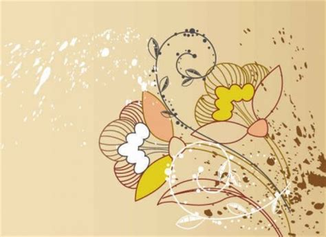 latar belakang floral kartu ucapan vector latar belakang