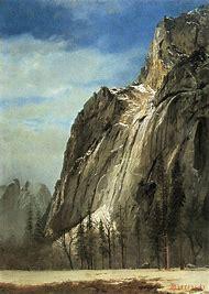 Albert Bierstadt Painting Yosemite