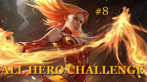 dota 2 all challenge lina youtube