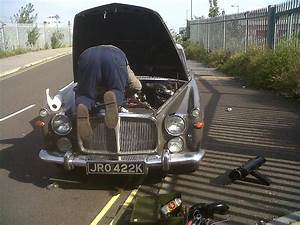 Restoration Welding And Repairs Of Rover P5b V8 Coupe