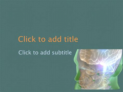 neurology powerpoint background