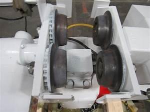 Coffing 3 Ton Electric Chain Hoist W  Power Trolley 9 U0026 39  Lift 7 U0026 39  Pendant Tested