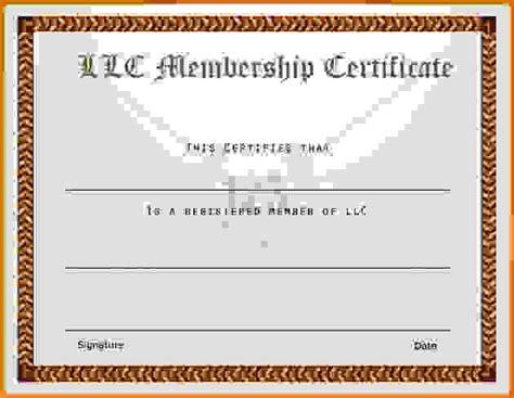 llc membership certificate template membership certificate templatereference letters words reference letters words