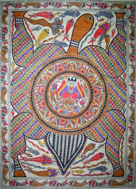 easy madhubani art  paintings  beginners