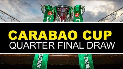 Carabao Cup fifth round draw revealed - Manchester United ...