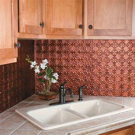 copper kitchen backsplash tiles kitchen dining metal frenzy in kitchen copper backsplash ideas stylishoms kitchen