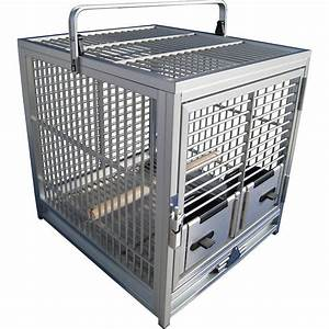 Cage A Perroquet : cage de transport perroquet en aluminium king 39 s cages tc01 278 00 ~ Teatrodelosmanantiales.com Idées de Décoration